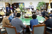 순천시의회, 대구 수성구의회와 간담회 개최