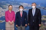 """주한 영국대사 여수 방문, """"COP 협력 및 기후변화대응 논의"""""""